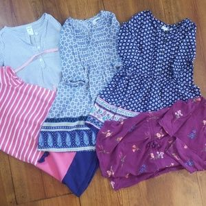Bundle 4T 5 dresses, all for $15